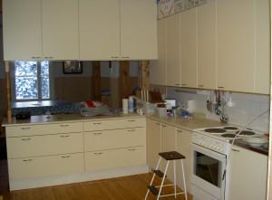 Uudistettu keittiö
